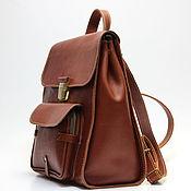 Сумки и аксессуары handmade. Livemaster - original item Backpacks: W-22CR-002-3. Handmade.