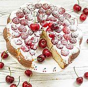 Посуда handmade. Livemaster - original item Sweet cherries :) Tortorice, ceramics, handmade.. Handmade.