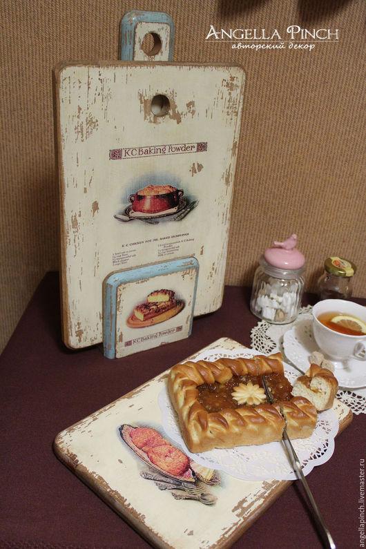 """Кухня ручной работы. Ярмарка Мастеров - ручная работа. Купить """"Поварская книга"""" - набор досок на подставке.Бук.. Handmade. Комбинированный"""