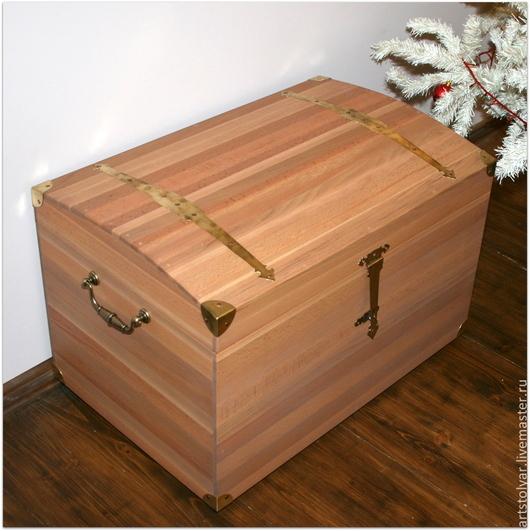 """Мебель ручной работы. Ярмарка Мастеров - ручная работа. Купить Сундук  """"Эльза"""". Handmade. Бежевый, экостиль, мебель из дерева"""