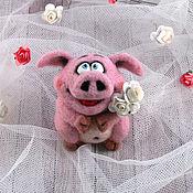 Куклы и игрушки handmade. Livemaster - original item Pig Oink. Handmade.