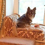 """Для домашних животных, ручной работы. Ярмарка Мастеров - ручная работа Диванчик для собаки """"Престиж"""". Handmade."""