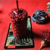 """Фен-шуй и эзотерика ручной работы. Ярмарка Мастеров - ручная работа Свеча """"Роза Любви"""". Handmade."""