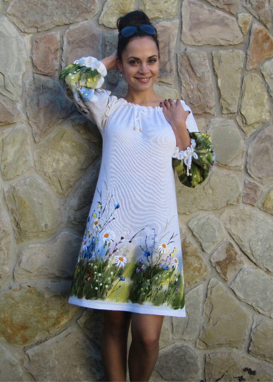 dress ' Leto ringing louder sing ...', Dresses handmade, Babaevo, Фото №1