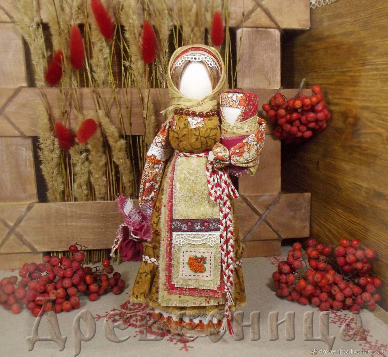 Кукла-оберег Рябинка, Народная кукла, Саратов,  Фото №1