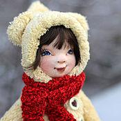 Куклы и игрушки ручной работы. Ярмарка Мастеров - ручная работа Текстильная авторская кукла Герда. Handmade.