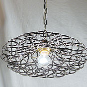 Для дома и интерьера handmade. Livemaster - original item Ceiling Lamp Old Time Bronze. Handmade.
