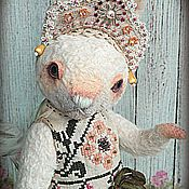 Куклы и игрушки ручной работы. Ярмарка Мастеров - ручная работа Зайка Акулина. Handmade.