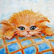 """Картины и панно ручной работы. Ярмарка Мастеров - ручная работа Картина """"Спать пора"""", бесплатная доставка, подарок ребенку. Handmade."""