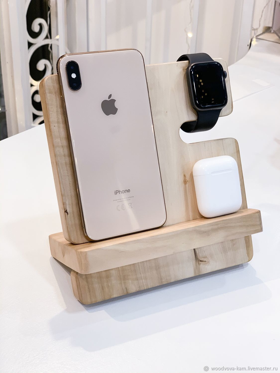 Docking station wireless charging for IPhone, the Apple Watch and AirPods, Stand, Rostov-on-Don,  Фото №1