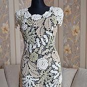 Одежда ручной работы. Ярмарка Мастеров - ручная работа платье в пастельных тонах. Handmade.