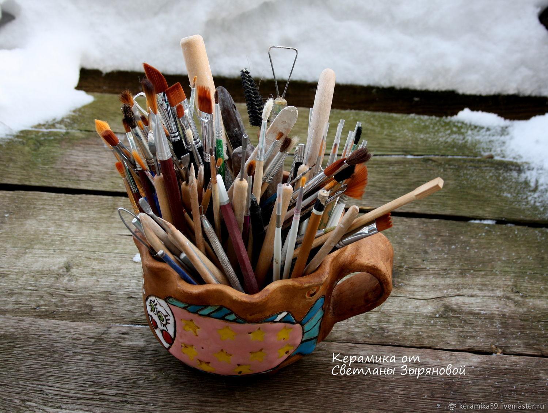 Вазы ручной работы. Ярмарка Мастеров - ручная работа. Купить Декоративная ваза. Handmade. Керамика, ручная авторская работа