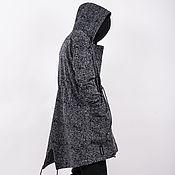 Одежда ручной работы. Ярмарка Мастеров - ручная работа Пальто худи ворс. Handmade.