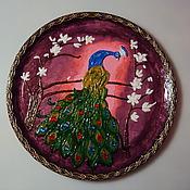 Картины и панно handmade. Livemaster - original item Wall panels surround the Peacock. Handmade.