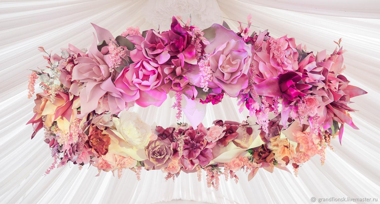 Цветы ручной работы. Ярмарка Мастеров - ручная работа. Купить Цветы из изолона и фоамирана. Handmade. Бумажные цветы, фотозона на праздник