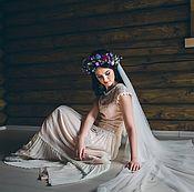 Свадебный салон handmade. Livemaster - original item Boho wedding dress for Marina. Handmade.