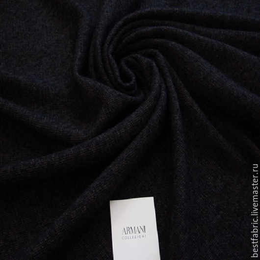 твид пальтовый сток ARMANI , Италия шерсть + мохер шир. 150 см цена 3100 р цвет меланж черный -темно-коричневый средней толщины, мягкая, легкая, немного пушится