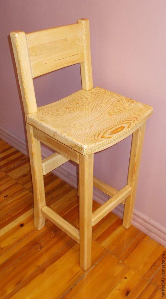 Мебель ручной работы. Ярмарка Мастеров - ручная работа. Купить Стул барный деревянный. Handmade. Комбинированный, мебель из дерева