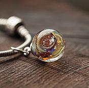 handmade. Livemaster - original item Pendant-ball for the bracelet