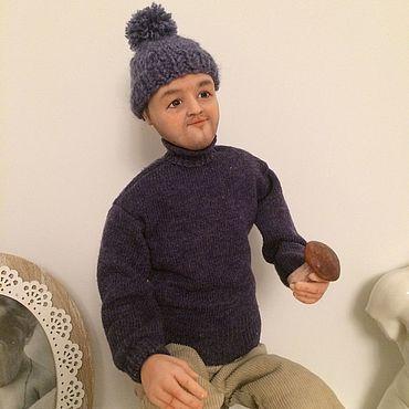"""Куклы и игрушки ручной работы. Ярмарка Мастеров - ручная работа Куклы: Портретно-шаржевая кукла """"Грибник"""". Handmade."""