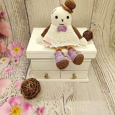Куклы и игрушки ручной работы. Ярмарка Мастеров - ручная работа Приведение в шляпке. Handmade.