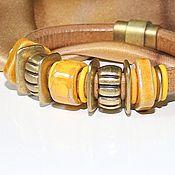 Украшения handmade. Livemaster - original item Bracelet Regaliz Sands Of The Sahara. Handmade.