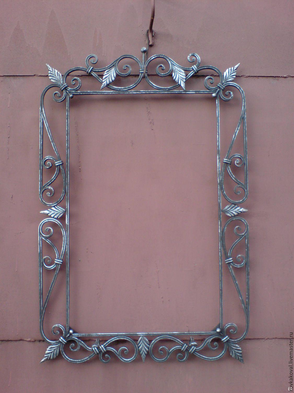Зеркало в кованой раме своими руками 261
