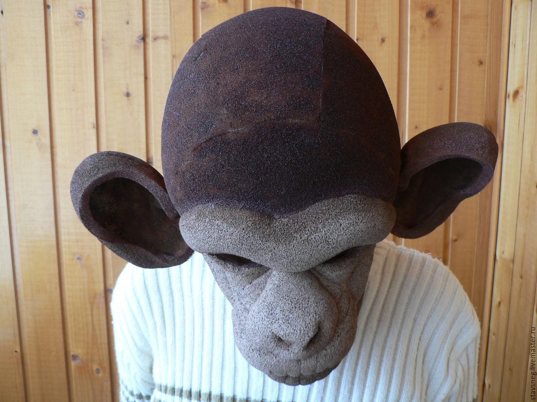 Маски обезьяны из поролона выкройки