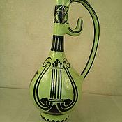 Для дома и интерьера ручной работы. Ярмарка Мастеров - ручная работа ваза амфора для интерьера выполнена в технике папье-маше. Handmade.