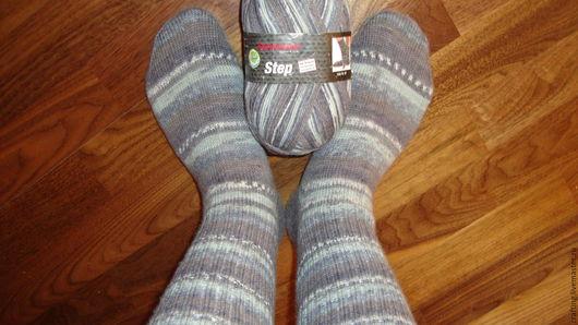 Носки, Чулки ручной работы. Ярмарка Мастеров - ручная работа. Купить Классические шерстяные носки из высококачественной пряжи.. Handmade. износостойкость