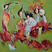 """Картины и панно ручной работы. Ярмарка Мастеров - ручная работа Картина """"Весна идет"""". Handmade."""