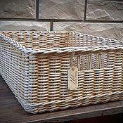Для дома и интерьера ручной работы. Ярмарка Мастеров - ручная работа Короб плетёный. Handmade.