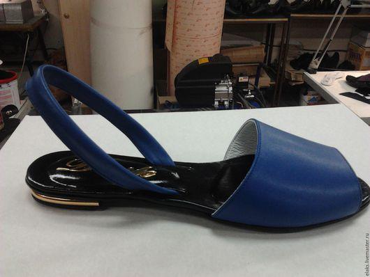 Обувь ручной работы. Ярмарка Мастеров - ручная работа. Купить БОСОНОЖЕК. Handmade. Черный, босоножки из кожи, кожа натуральная