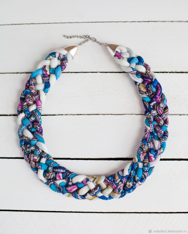 necklaces ' Fresh wind', Folk decorations, Serpukhov,  Фото №1