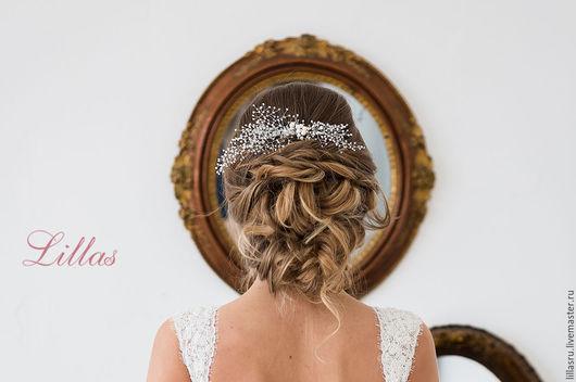 Украшение для свадебной прически невесты. Автор Анастасия Фатхиева-Долохова Lillas