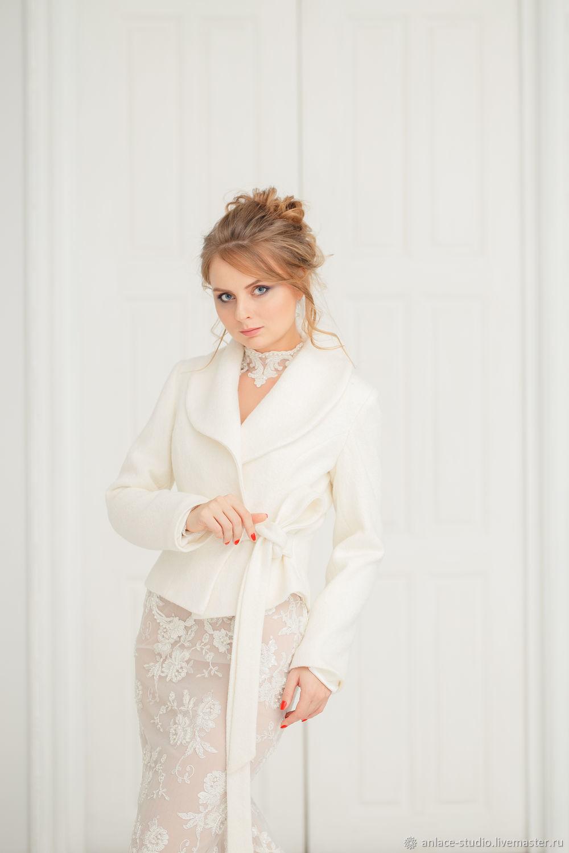 Wedding coat, Bridal jacket, Bridal coat, Wedding jacket, Svetlana CR, Capes, Moscow,  Фото №1