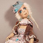 Куклы и игрушки ручной работы. Ярмарка Мастеров - ручная работа Ванда. Текстильная шарнирная будуарная кукла. Handmade.