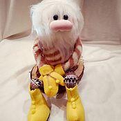Мягкие игрушки ручной работы. Ярмарка Мастеров - ручная работа Гном Гномик Буся (Gnome Busya)мягкие игрушки. Handmade.