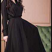 Платья ручной работы. Ярмарка Мастеров - ручная работа Платье  с запахом. Handmade.