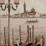 Картины и панно ручной работы. Ярмарка Мастеров - ручная работа лодочки-гондолы. Handmade.