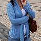 """Кофты и свитера ручной работы. Кофта """"Марго"""". Nataliia B.. Интернет-магазин Ярмарка Мастеров. Женская, весна, осень, на запах"""