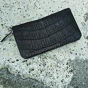Сумки и аксессуары handmade. Livemaster - original item Wallet genuine leather crocodile. Handmade.