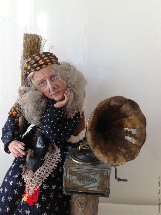Коллекционные куклы ручной работы. Ярмарка Мастеров - ручная работа. Купить Баба-Яга Былое и думы........ Handmade. Баба яга