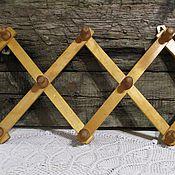 Винтаж handmade. Livemaster - original item Foldable wall hanger vintage USSR. Handmade.