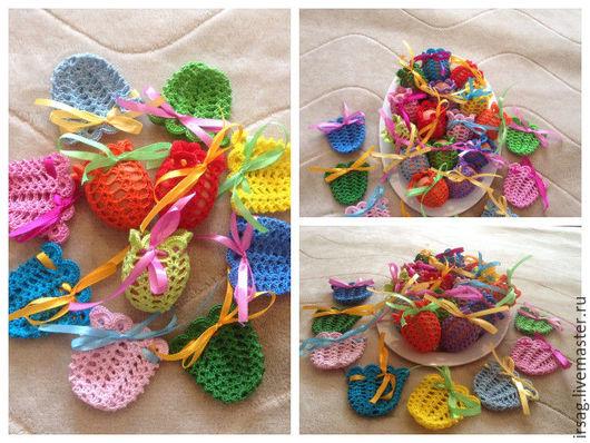 Яйца ручной работы. Ярмарка Мастеров - ручная работа. Купить Пасхальное украшение для яиц. Handmade. Комбинированный