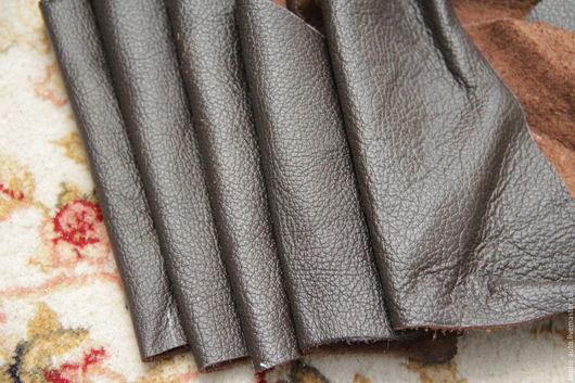 Шитье ручной работы. Ярмарка Мастеров - ручная работа. Купить №7.21 Горький шоколад 2113 грамм.1.3?мм.Натуральная кожа. Handmade.