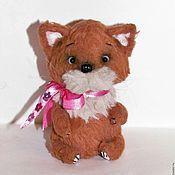 Куклы и игрушки handmade. Livemaster - original item Cat Teddy Tavern (9 cm). Handmade.
