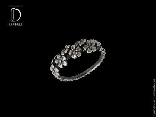 Кольца ручной работы. Ярмарка Мастеров - ручная работа. Купить Кольцо в серебряной филиграни (модель К15). Handmade. Кольцо