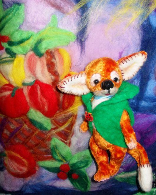 Мишки Тедди ручной работы. Лис Луис. Авторская игрушка. Интерьерная игрушка.. Natali & ﻱНатусикиﻱ. Ярмарка Мастеров.