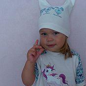Одежда ручной работы. Ярмарка Мастеров - ручная работа Шапочка для малышей.. Handmade.
